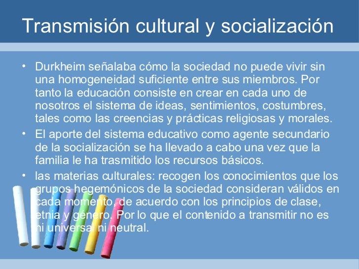 Transmision social definicion