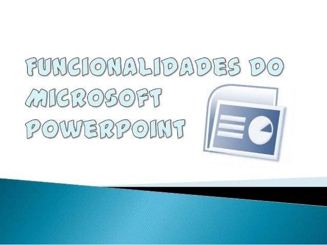 """    Este trabalho está inserido na disciplina de TIC, cujo tema é """"Funcionalidades do Microsoft PowerPoint"""". Com ele pre..."""