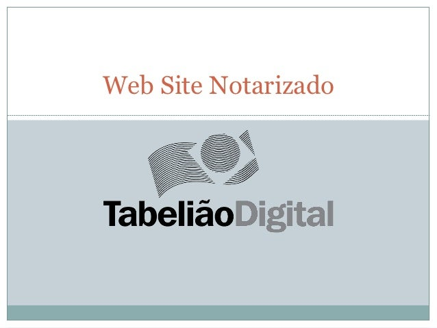 Web Site Notarizado
