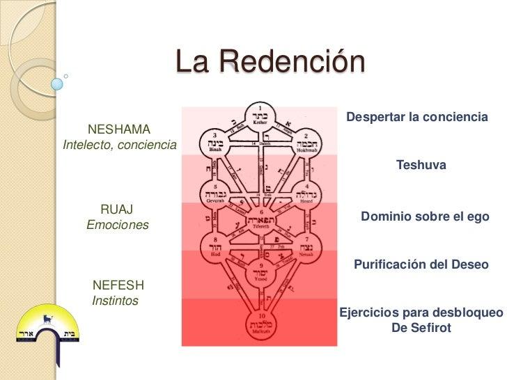 La Redención                               Despertar la conciencia     NESHAMAIntelecto, conciencia                       ...