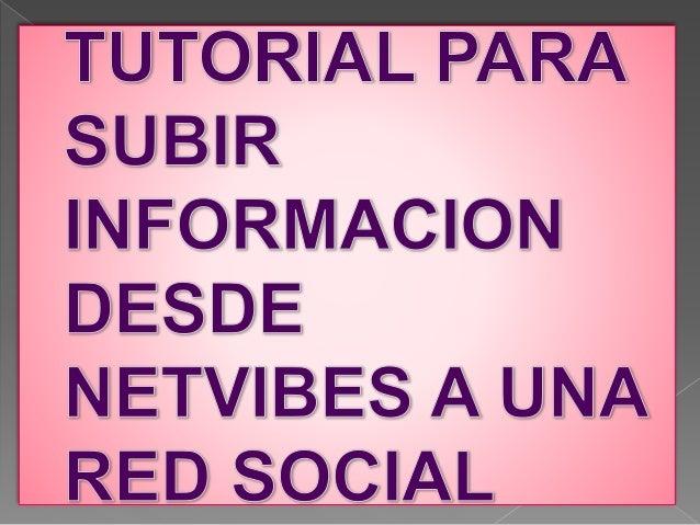 Añado fuentes y redes sociales