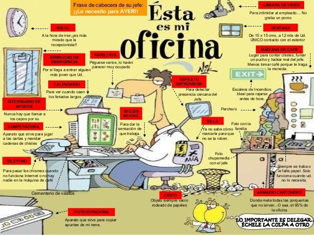 Funcionario de oficina for Oficina en ingles