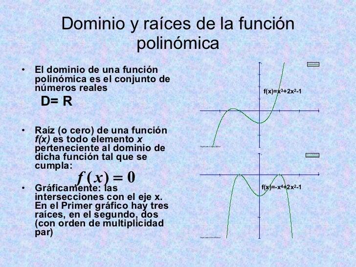 Funciones Polinómicas Introducción