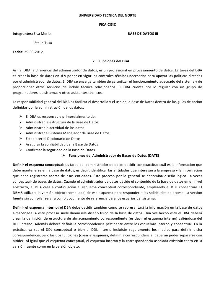 UNIVERSIDAD TECNICA DEL NORTE                                                      FICA-CISICIntegrantes: Elsa Merlo      ...