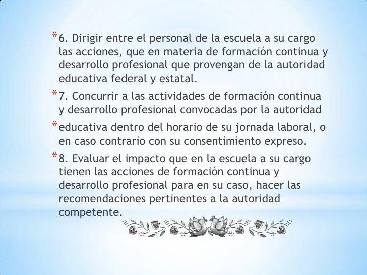 Funciones del director escuela primaria for Funcion de un vivero escolar