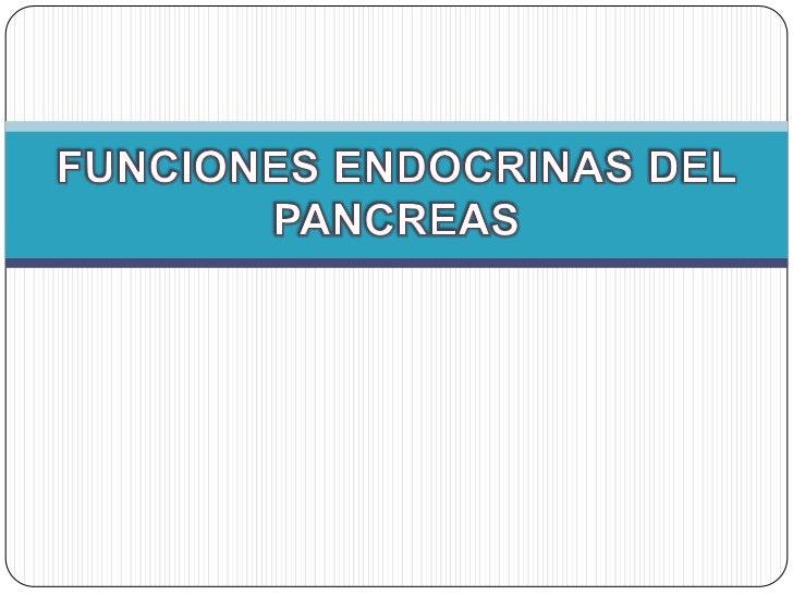 Regulación del                                   glucagón e insulina                                       La Proinsulina ...