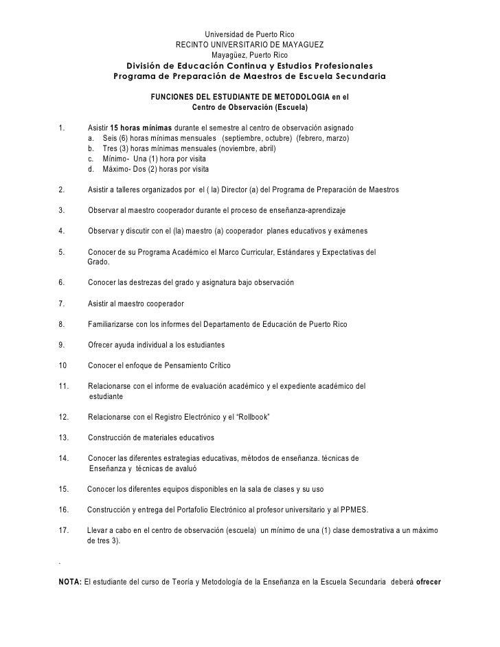 Universidad de Puerto Rico                               RECINTO UNIVERSITARIO DE MAYAGUEZ                                ...
