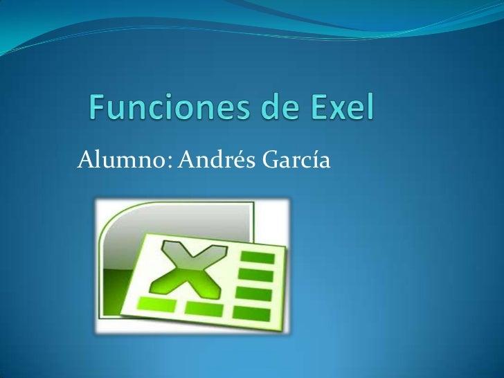 Alumno: Andrés García