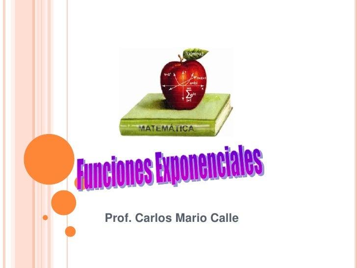 Prof. Carlos Mario Calle
