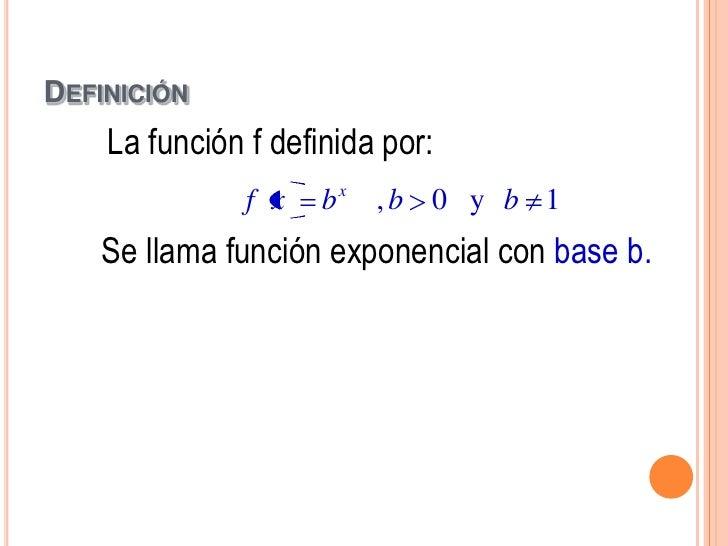 GRÁFICA               x     f x   2                     f(x)x    2x                      8                             7-2...