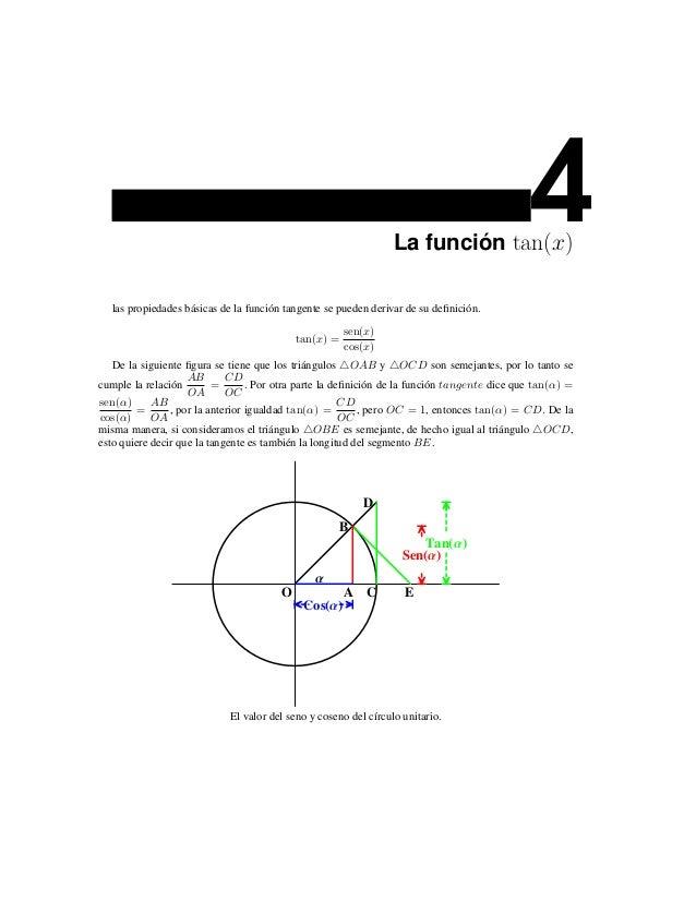 La función tan(x)                                                                                              4  las prop...