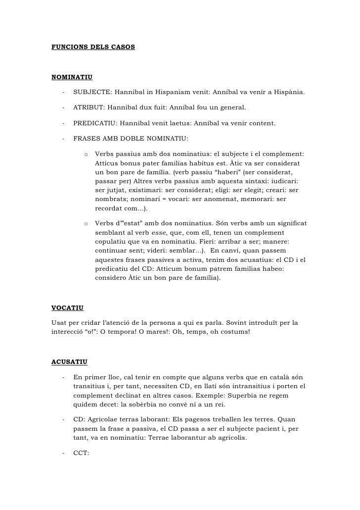 Usos i funcions dels casos