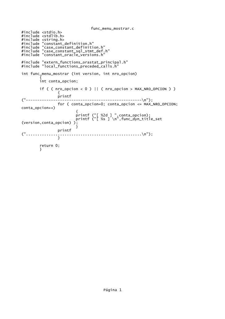 "func_menu_mostrar.c#include   <stdio.h>#include   <stdlib.h>#include   <string.h>#include   ""constant_definition.h""#includ..."