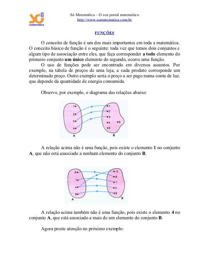 Só Matemática – O seu portal matemático                       http://www.somatematica.com.br                              ...