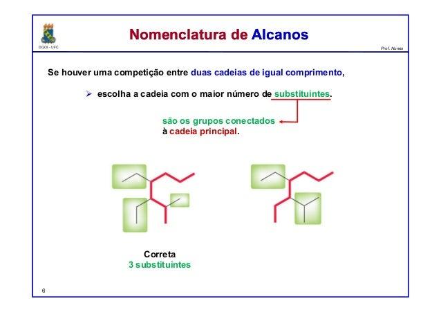 DQOI - UFC Prof. Nunes Se houver uma competição entre duas cadeias de igual comprimento,  escolha a cadeia com o maior nú...