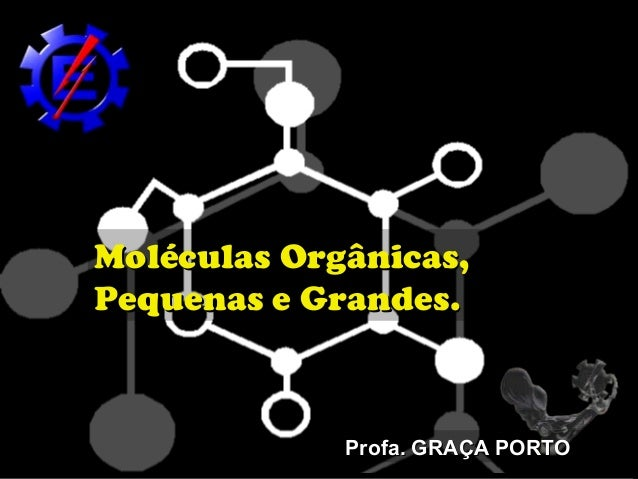 Moléculas Orgânicas,Pequenas e Grandes.             Profa. GRAÇA PORTO