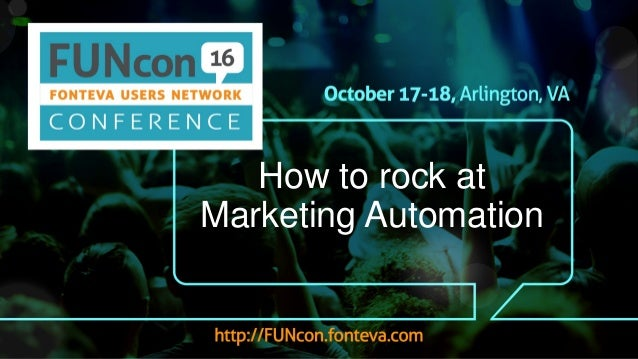 How to rock at Marketing Automation