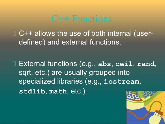 How to call a function in c++