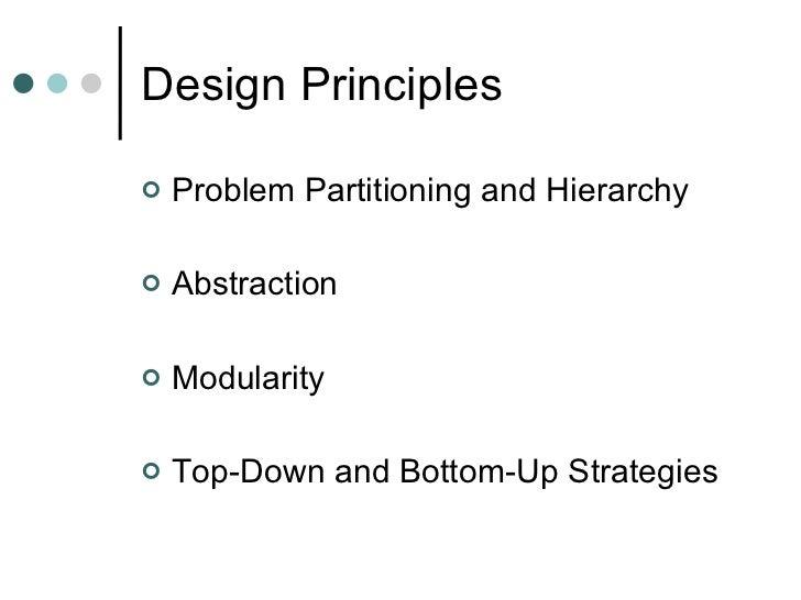 Function Oriented Design