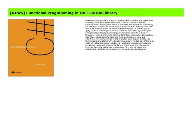 book functional c# programming in