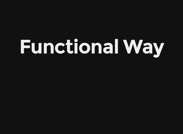 FunctionalWay