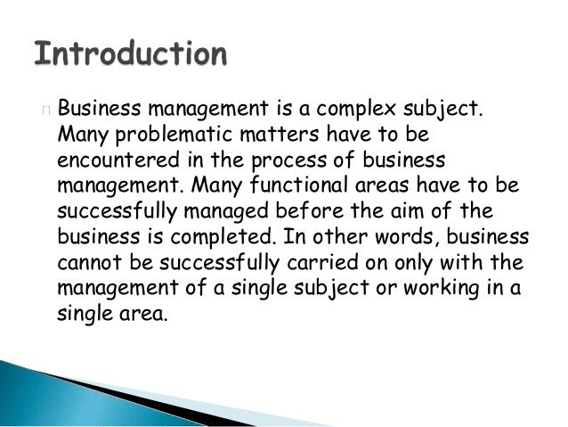 function area of business Thinking in terms of functional areas is very useful, because it helps us segment  effort and accountability in a business but not everyone knows this term or uses .