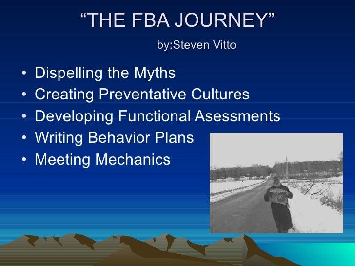 Steve Vitto Functional assessment and meeting mechanics presentation