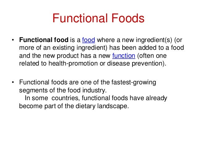functional foods Functional foods, portland, oregon 354 likes 24 talking about this my passion encompasses educating the public on the importance of food as medicine.