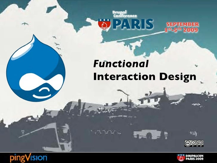 Functional Interaction Design