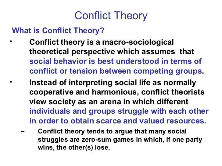 conflict v. consensus theory essay An essay or paper on consensus and conflict models  there are two models of crime: the consensus model and the conflict model (jessica  conflict theory .