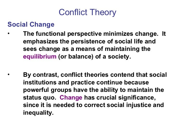 Models of Social Change