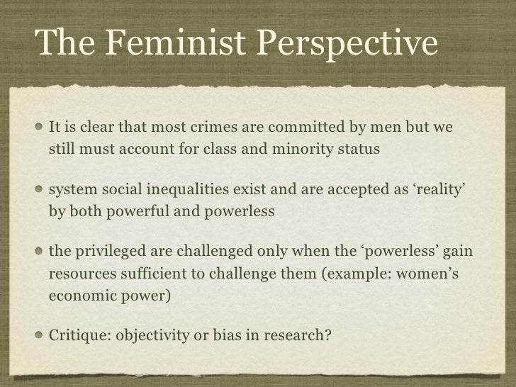 femenist theory Among the major feminist theories are liberal feminism well as the authors' assessment of what criminology gains from feminist theory and the future of.