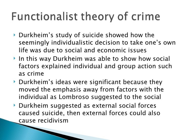 how was durkheim able to show the social causes of suicide Social facts and suicide a social hadden notes that durkheim wished to show while this is not a proof or determination of what causes suicide yet, durkheim.
