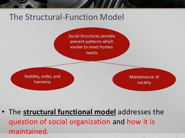 functionalism sociology and social order