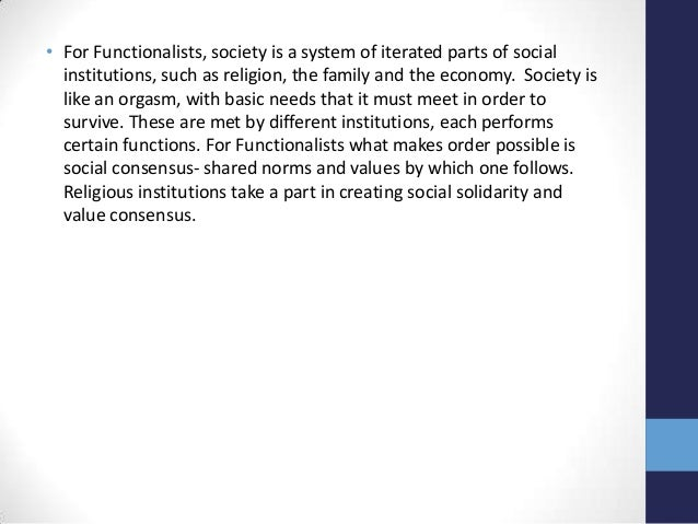 how does functionalism apply to education