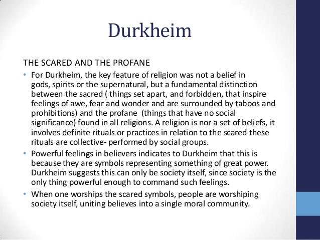 the criticism of durkheims theories The division of labor in society was a seminal contribution to the sociology of law and morality, and remains a sociological classic by any standards by the same standards, however, it also contains undeniable shortcomings which have limited its appeal to modern sociologists.
