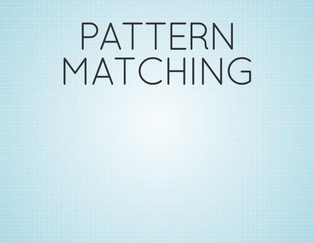 Functional Pattern Matching on Python
