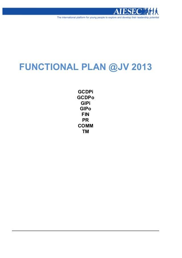 FUNCTIONAL PLAN @JV 2013          GCDPi          GCDPo           GIPi           GIPo           FIN            PR          ...
