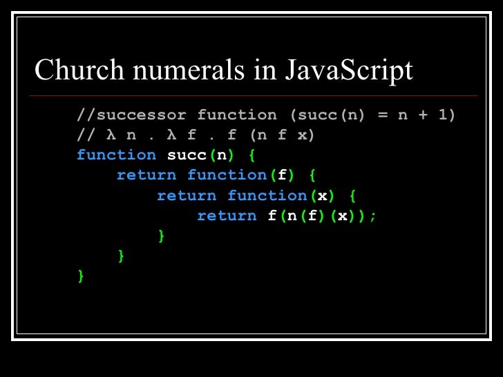 Introduction to Functional Programming in JavaScript
