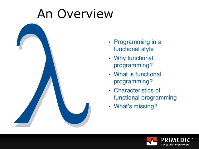 functional programming 2 essay We looked at the basic features of functional programming with visual f# in this second part, we take it a bit farther and look at creating anonymous functions, pattern matching, and other features of f.