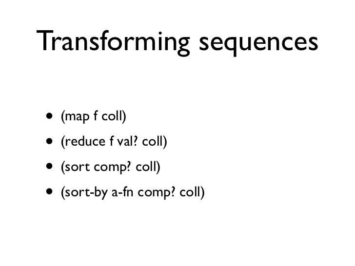 functional programming in clojure
