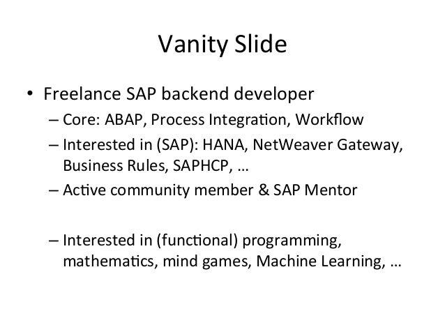 Functional programming intro/motivation Slide 3