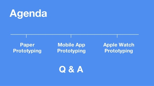 Functional Prototyping For Mobile Apps