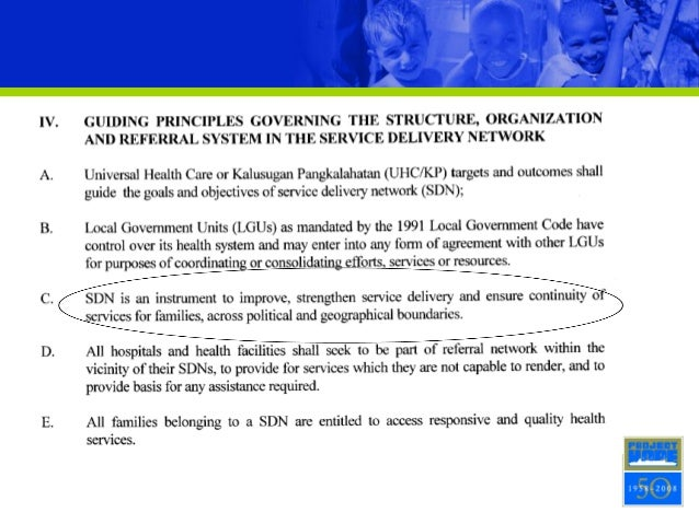 Functional SDN in Strategizing Implementation of Universal Health Car…