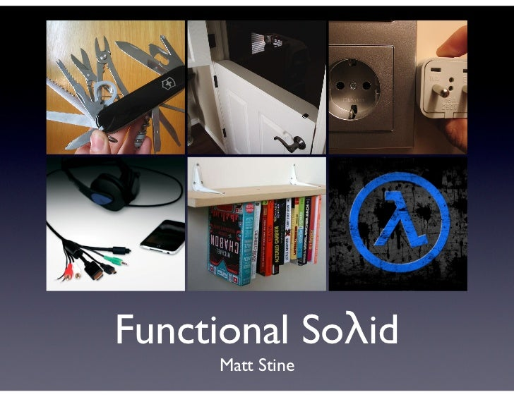 Functional Soλid     Matt Stine