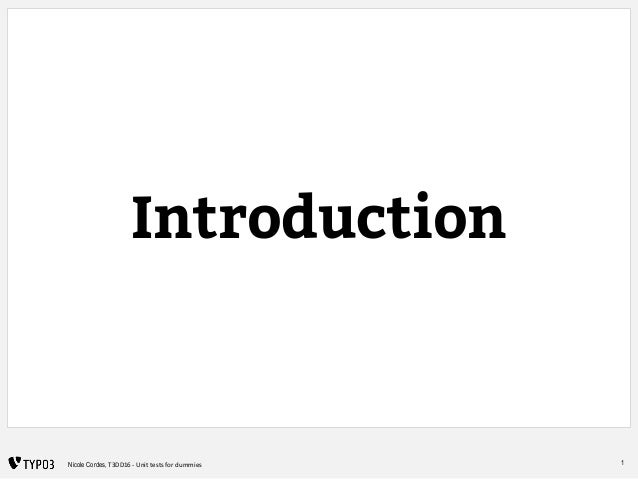 Functional tests for dummies Slide 2