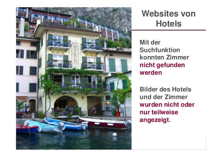 Websites von                               Hotels                             Mit der                             Suchfunk...