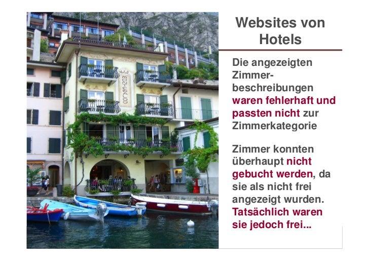 Websites von                               Hotels                             Die angezeigten                             ...