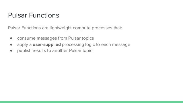 Function Mesh: Complex Streaming Jobs Made Simple - Pulsar Summit NA 2021 Slide 3