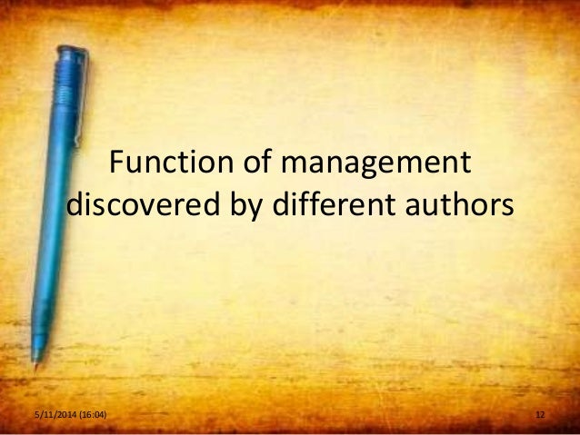 The Principles of Modern Management
